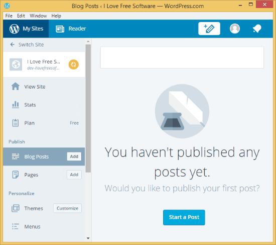 Wordpress_Interface