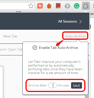 enable tab auto-archive