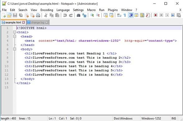 html editor software windows 10 5