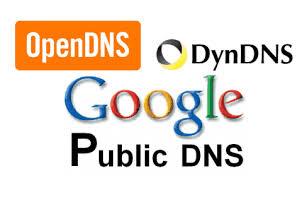 list of free public DNS servers