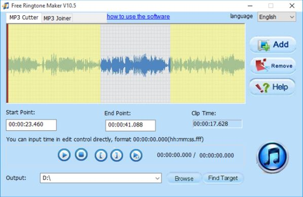 ringtone maker software windows 10 1