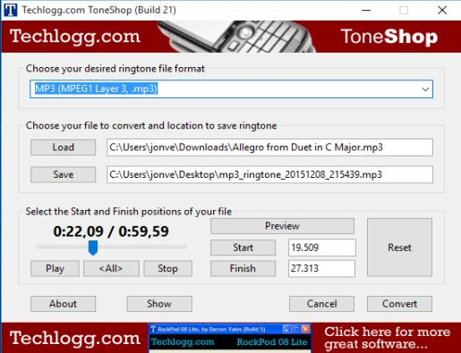 ringtone maker software windows 10 5
