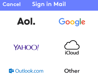 sign in mail