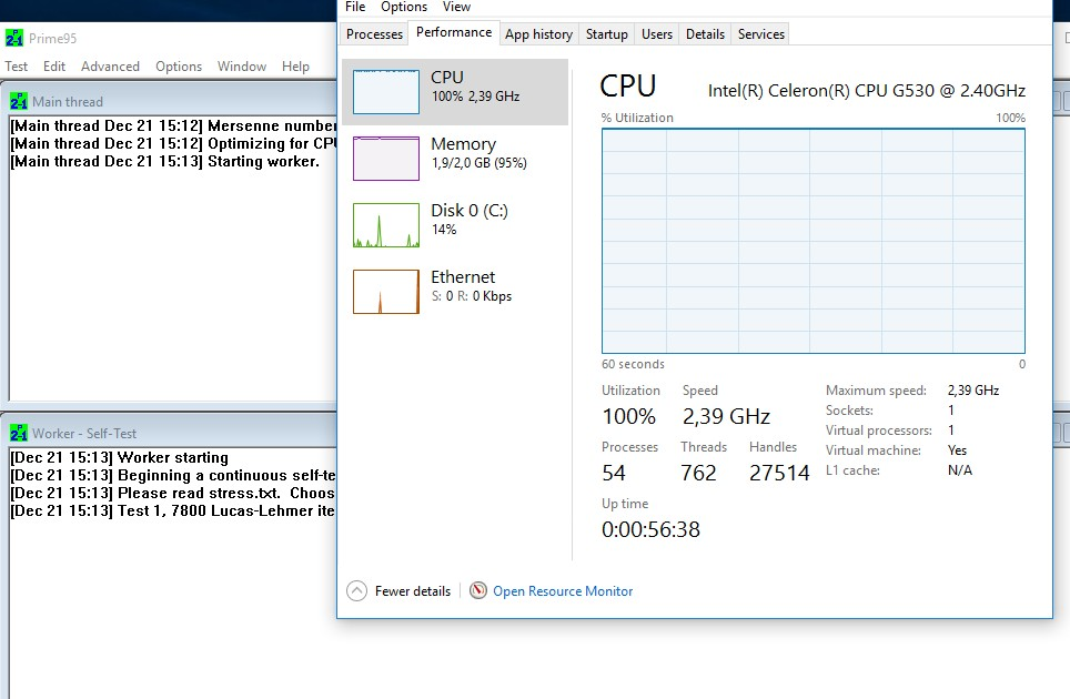 system stress testing software windows 10 3