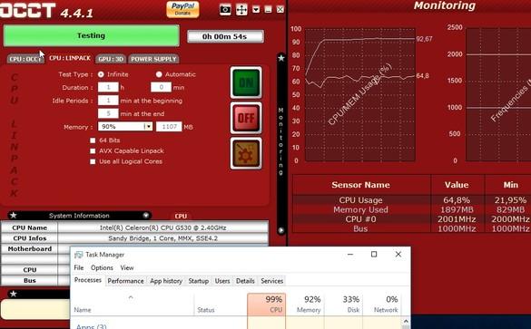 system stress testing software windows 10 4