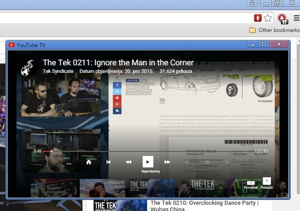 youtube video pop up extensions chrome 2