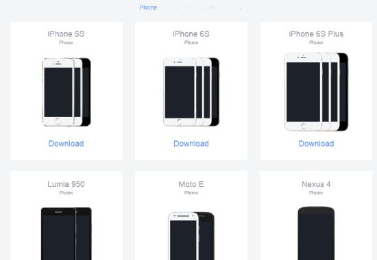 Facebook_Design_Resources_Phone_Mockups