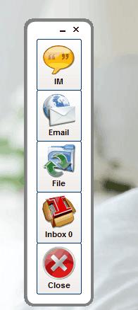 SSuite NetVine- main interface