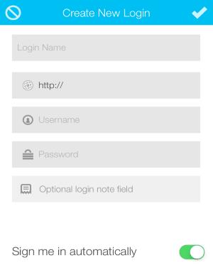 add a login