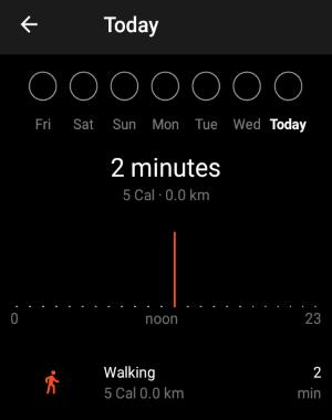 automatically track walks