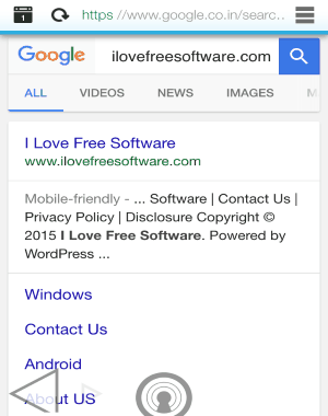 built-in browser