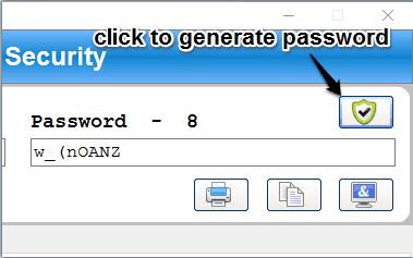 generate strong passwords
