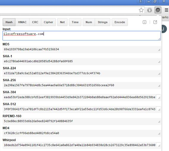 3 Hash Calculator Extensions For Chrome