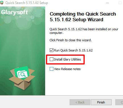 install or skip Glary Utilities
