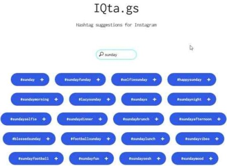 iqta hashtag suggestions for instagram