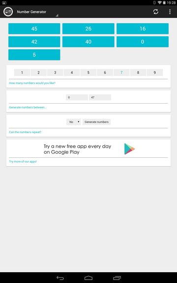 lottery number generator apps android 4