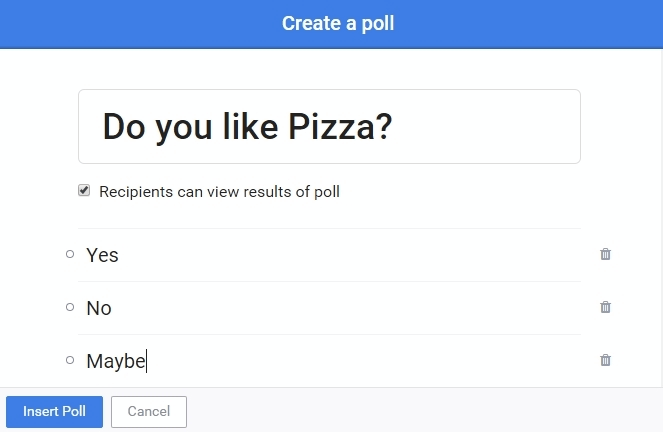 6 Ways To Embed Polls In Emails