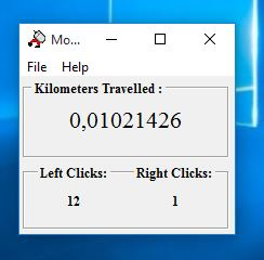 mouse distance tracker software windows 10 5