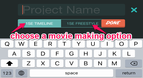 movie making options