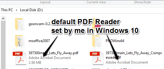 How To Set Default PDF Viewer In Windows 10