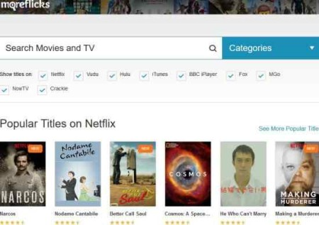 netflix search engines moreflicks