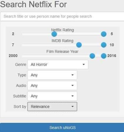 netflix search engines unogs