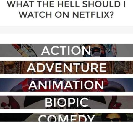 netflix search engines what the hell should i watch on netflix