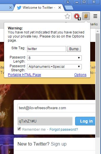 password hasher extensions chrome 1