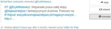 politwoops tweets