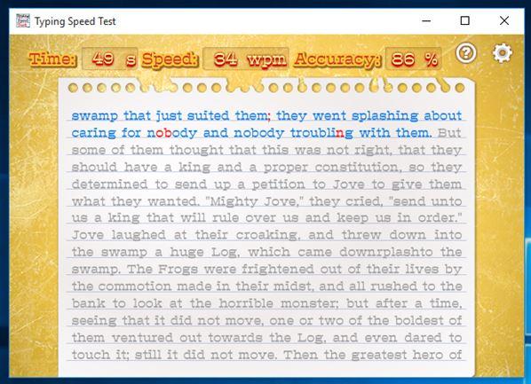 typing speed tester software windows 10 3