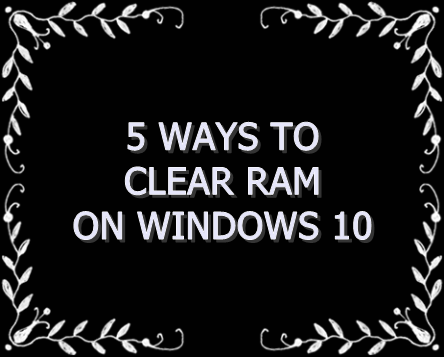 5 free ways to free up ram