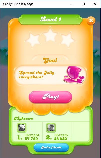 Candy Crush jelly saga level objectives