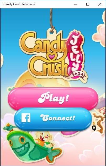 Candy Crush jelly saga main menu