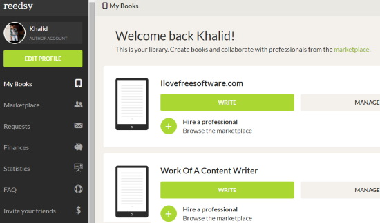 Write A Book Online For Free With Reedsy