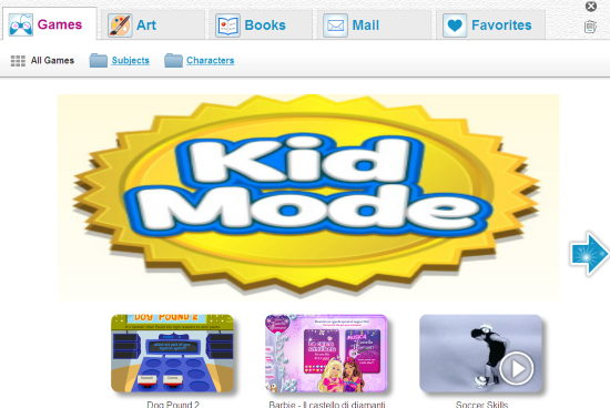 free browser for kids