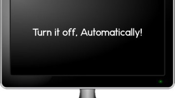 Power Off Monitor Automatically