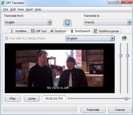 Subtitle Translator to Translate Language of SRT Subtitle File
