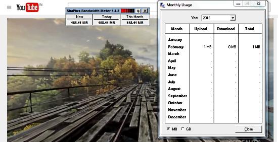 free bandwidth usage monitor
