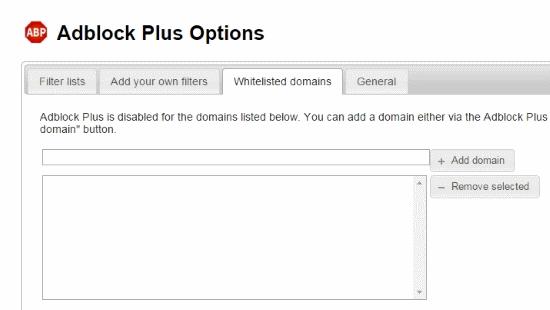 adblock plus chrome