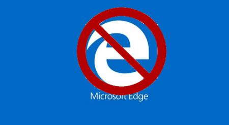 block Microsoft Edge in Windows 10
