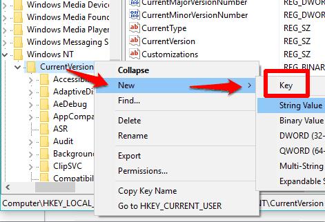 create MTCUVC key