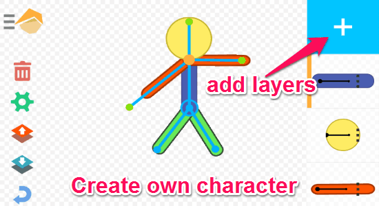 create custom character