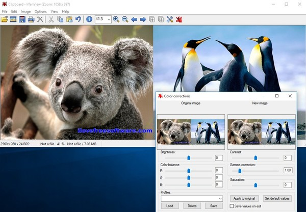 dual pane image viewer software windows 10 2