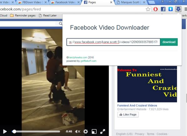 facebook video download extensions chrome 3