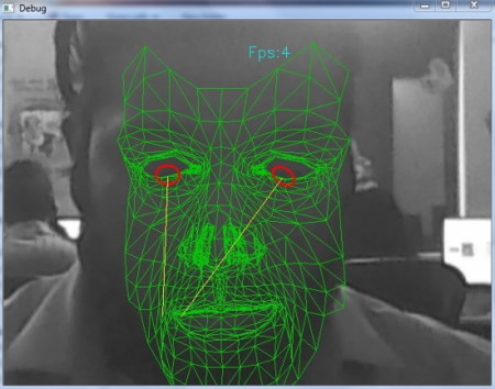 gaze pointer test
