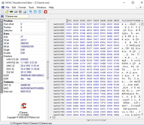 hex editor software windows 10 2