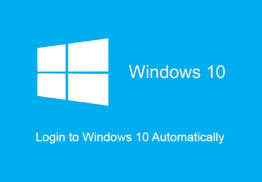 how to automatically login to Windows 10