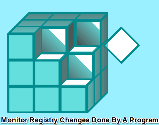 how to find Registry changes done by a specific program