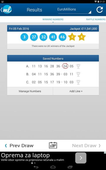 lottery result checker apps android 3