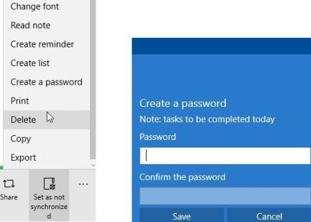 notiny password